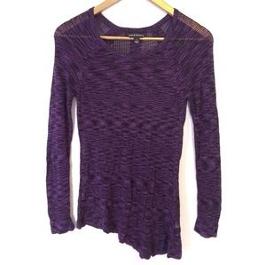 Reserved Knit Long Sleeve Top Stretch MED